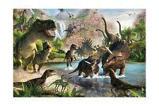Qian Jurassic Park Photography Background 3D Dinosaur Photo Studio Props Boot...