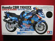 Tamiya 1 12 Honda Cbr1100xx Super Blackbird 'with Me' Colour Plamo Japan Toy