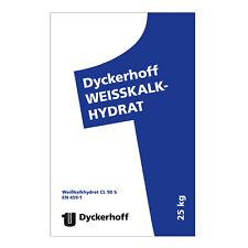 Dyckerhoff Weisskalkhydrat Cl 90 S gelöscht 25kg Kalk