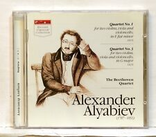 THE BEETHOVEN QUARTET - ALYABIEV quartets nos.1 & 3 MUSIC BOHEME CD NM