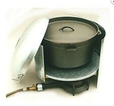 Camp Oven Mate Jumbo 440 mm diam Windscreen Heat Shield Convection Cooking