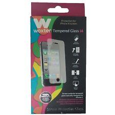 Protector Woxter Cristal Templado iPhone 4 Original Nuevo