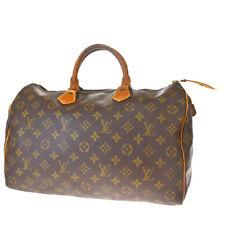 Auth LOUIS VUITTON Speedy 35 Travel Hand Bag Monogram Leather BN M41524 64MF462