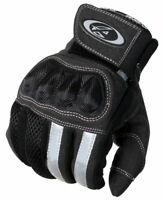 New AGVsport Mecury Motorcycle Gloves Mesh Hard Knuckle Clarino synthetic palm