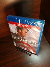 Captain America First Avenger (3D+Blu-ray) NEW-Free SHIPPING with Tracking~