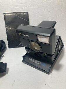 Polaroid SLR 680 SE Special Edition Land Instant Camera. Clean,*Needs Look Over*