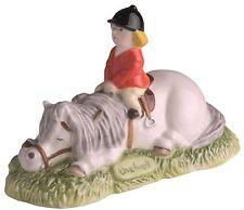 Thelwell John Beswick Don't Tire Your Pony Grey Horse Figure 8cm JBT6GR RRP£28