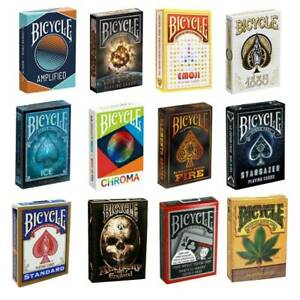 BICYCLE PLAYING CARDS DECKS MAGIC TRICKS POKER HIGH QUALITY MADE IN USA NEW
