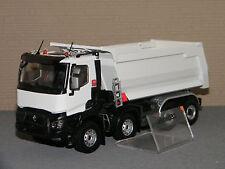 RENAULT TRUCKS K520 XTREM 8x4 BENNE MEILLER Blanc ELIGOR 1/43 Ref 115767