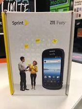 New ZTE Fury N850 4GB Sprint Smartphone Black