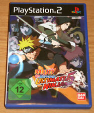 Naruto Shippuden: Ultimate Ninja 5 (Sony PlayStation 2, 2009)