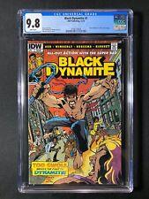 Black Dynamite #1 CGC 9.8 (2013) - Black Panther #7 cover homage - HTF 9.8 copy