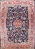 Antique Alluring Decorative Floral Wool Persian Sarouk Oriental Area Rug 10x14