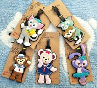 DUFFY BEAR ShellieMay PVC Luggage Tag gift Travel Label boarding tags hot