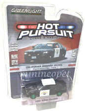 GREENLIGHT 42790 D 2008 DODGE CHARGER CALIFORNIA HIGHWAY CHP 1/64 GREEN MACHINE