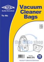 Pack Of 10 SWAN SC1060, SC11071,SC11072, Replacement Vacuum Cleaner Dust Bags