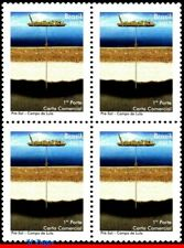 3209 BRAZIL 2012  PRE SALT OF LULA PRESIDENT, OIL, SHIPS BOATS, BLOCK MNH