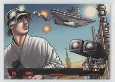 2013 Topps Star Wars Illustrated: A New Hope Purple Foil #5 Battle In Space 0a1