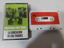 PACO MARTINEZ SORIA LA EDUCACION DE LOS PADRES 1971 ARIOLA TAPE CINTA CASSETTE