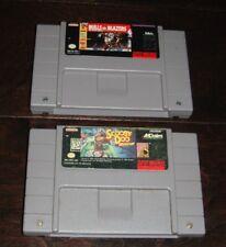 Lot of 2 SNES Games - Bulls vs Blazers & Scooby Doo Mystery- Carts