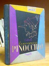 PINOCCHIO - Ed. Cappelli 1952 - illustrazioni di Giuseppe Bassi