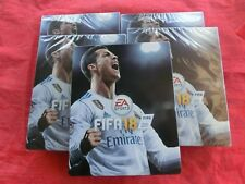 5x FIFA 18 Steelbooks Steel Box (leer, ohne Spiel) (NEU)