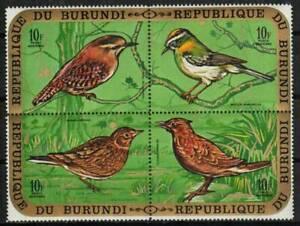 Burundi Stamp - Birds Stamp - LH
