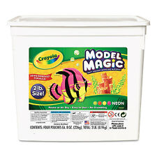 Crayola Model Magic Modeling Compound 8 oz each/Neon 2 lbs. 232413