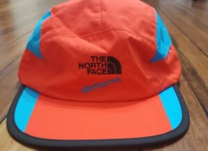 The North Face Extreme hat Cap 5panel Fiery Red NWT