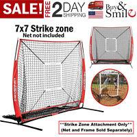 PRACTICE FRAME STRIKE ZONE 7'×7' for Baseball Softball Batting Training Hitting