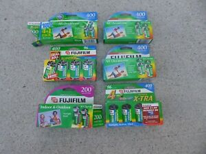Fuji FujiFilm X-Tra Superia 400 Speed Film 35mm 6 Packs- 24 Rolls Expired