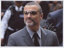 George Michael SIGNED Photo 1st Generation PRINT Ltd, No'd + Certificate / 4