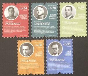 Portugal 2021 - Holocaust Memories set MNH