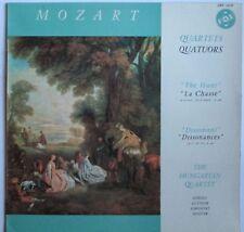 Mozart String Quartets ~ The Hunt / Dissonant ~ Hungarian String Quartet ~ MINT