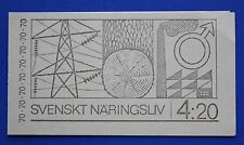 Sweden (866a) 1970 Swedish Trade & Industry MNH booklet