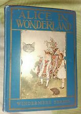 antique book slice in Wonderland 1916