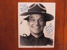 SONNY SHROYER(Enos/The Dukes of Hazzard)Signed 8 X 10 Black & White Glossy Photo