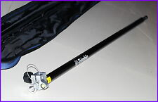New Telescopic Carbon Fibre Survey rod pole 2.3M GPS pole With 5/8 x11 thread