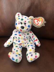 TY Beanie Babies TY 2K Bear - Tag Errors ***RARE***