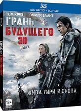 Edge of Tomorrow 3D Blu-ray English DTS-HD Master Audio 7.1 - Russian edition