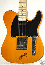 THE ROLLING STONES KEITH RICHARDS HAND SIGNED FENDER TELECASTER ON BODY! W/PROOF