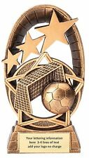 New! Soccer Futbol Youth League Trophy Resin Award Free Lettering Mrf1513A