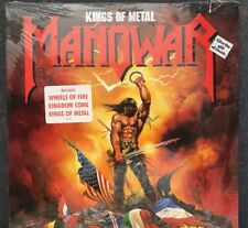 RARE Sealed Manowar Kings of Metal 1988 Atlantic Records 81930-1 Record LP Vinyl