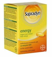 SUPRADYN ENERGY WITH COENZYME Q10 Multivitamins 30 TABLETS BAYER FREE SHIPPING