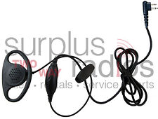 New D Ring PTT Headset For Motorola Radios CLS1110 CLS1410 RDU2020 BPR40 RDU2020