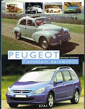 livre automobile: D. Pagneux: Peugeot: l'aventure automobile. ETAI