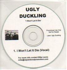 (830K) Ugly Duckling, I Won't Let It Die - DJ CD