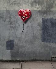 QUALITY BANKSY ART IN NEW YORK PHOTO PRINT (BAND-AID-BALLOON- HEART)