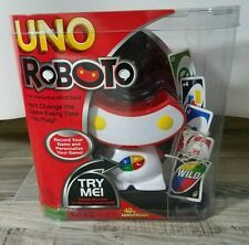 MATTEL - UNO ROBOTO - Interactive Wild Card Game - Model T8220 NEW IN PACKAGE!!!