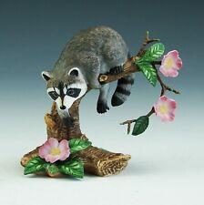 Vintage Lenox Twilight Mischief Racoon Porcelain Figurine